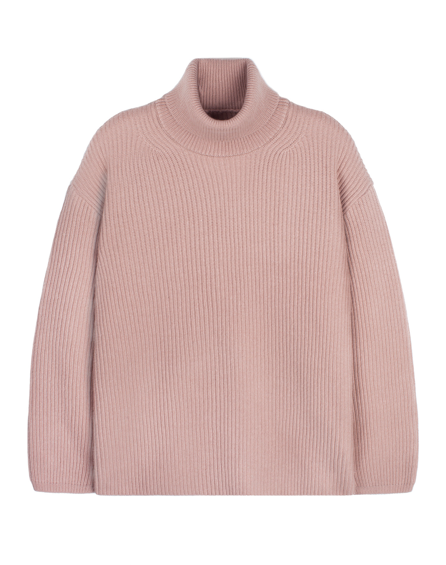 Oversize Neck Knit Pink / Over Fit