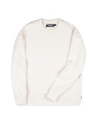 Heavy Sweat Shirt Ivory / Semiover