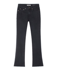 Black Cutted Black / Boot Cut
