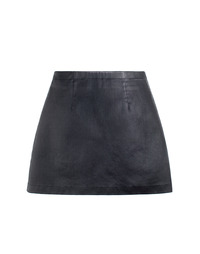 [W]TECH SKIRT BLACK / SEMI A LINE
