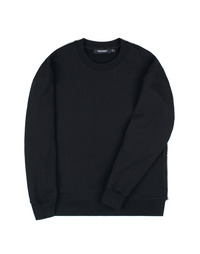 Heavy Sweat Shirt Black / Semiover