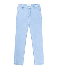 Denim Slacks Light blue / Semiwide