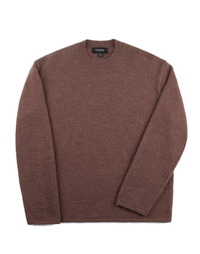 Oversize Alpaca Knit - Brown