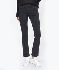 [W]Black Cutted Black / Boot Cut