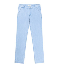 Denim Slacks / SemiWide
