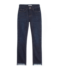 [W]Unbalance Cutted Selvedge / NewStraight