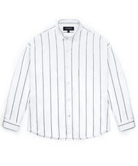 Stripe Shirket - White