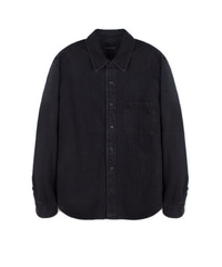 Black Denim Shirket Black / Semiover